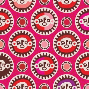 Masks (pink)
