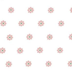 God is Love  flower dots