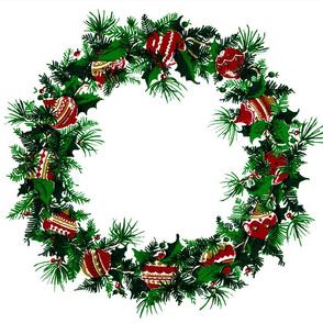Vintage Holiday Wreath