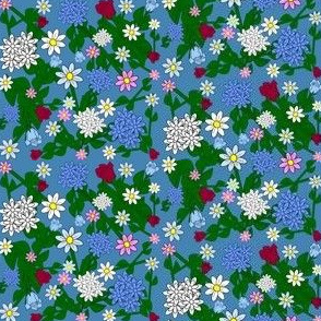 Spring Flowers Custom Design