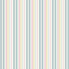 Floribunda Stripe-Antique White