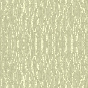 String Theory - pale moss and buttermilk