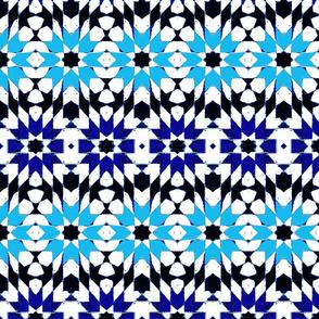oriental mosaic batik summerblue medium-ed