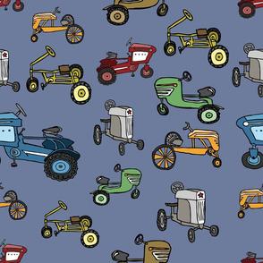 vintage pedal tractors