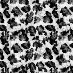 Luxe Leopard ~ Black and White