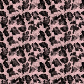 Luxe Leopard ~ Black and Dauphine Pink