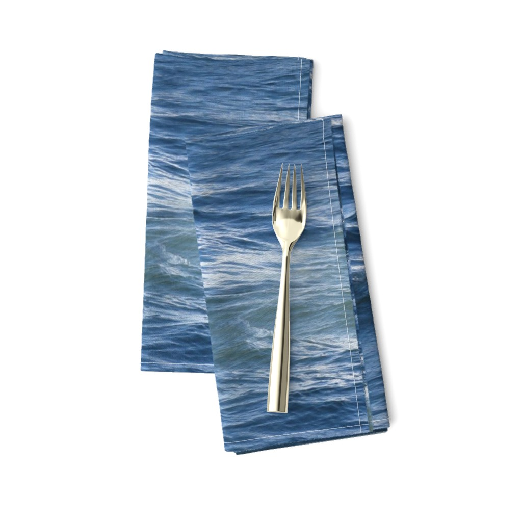 Amarela Dinner Napkins featuring Siren of the Seas ~  Seadrift  by peacoquettedesigns