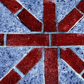 Brick Union Jack
