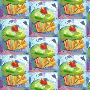 Unwrapped Cupcake