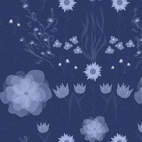 Flower dance at midnight
