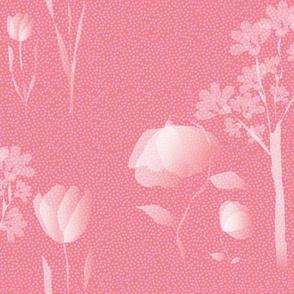 Delicate Pink Florals