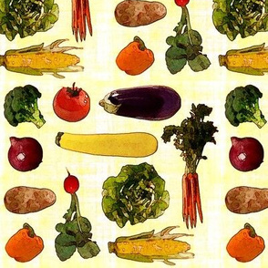 Large Produce Print