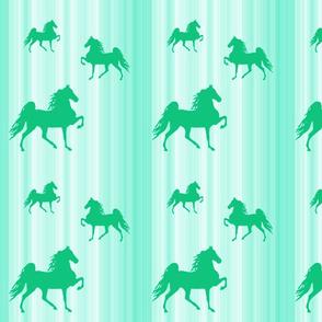 Horses-green_stripe