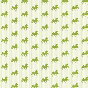 Horses-lime_green_stripe-for_kids