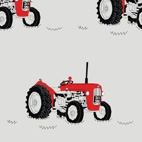 Tractor Farming Vintage Styles