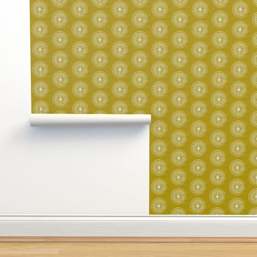 Wallpaper Atomic Gold Textured