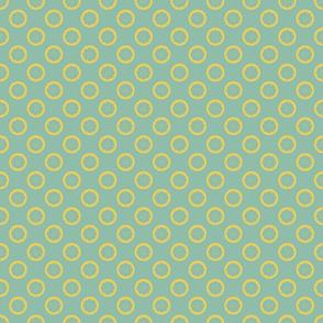 Summer Garden Daisy Polka Dots