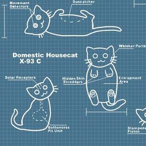 Cat BluePrints Large