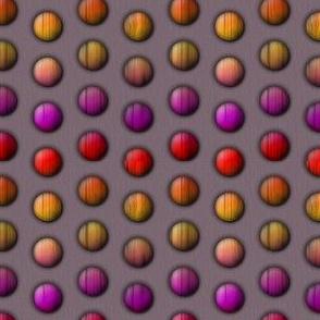 wooden rainbow buttons
