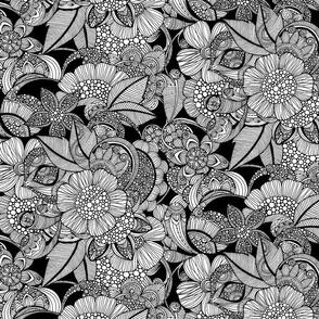 Rachel - black and white