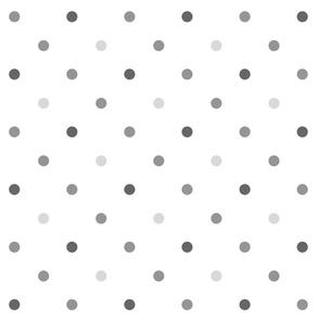 Modern Dot Gray
