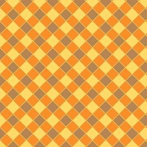 check brown-yellow-orange