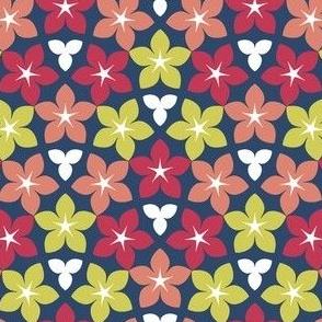 03245918 : U846 X tiny floral : blue
