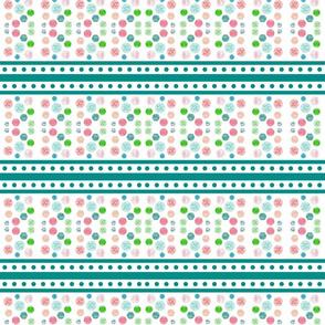 Chantilly  Drops  -Ocean stripes