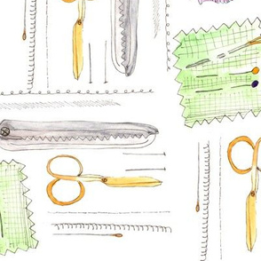 Notions - Scissors and tools