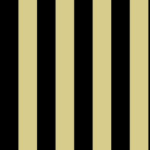 D8CC8C Khaki Tan and Black Stripe