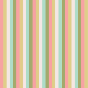 Nursery Garden Stripes