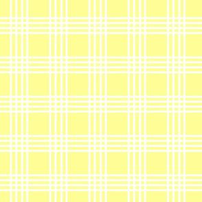 New Shabby Plaid Yellow