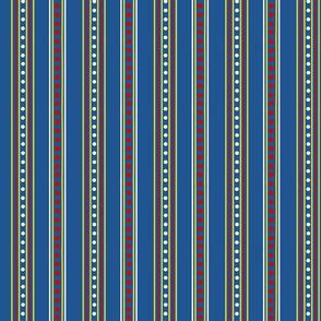Pretty in a Row Vertical Stripes