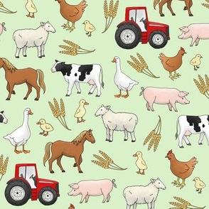 On the Farm - medium scale