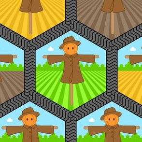 03254282 © tenant farmer - a scarecrow for all seasons