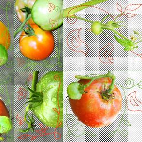 My Mama's Tomatoes - kitchen set
