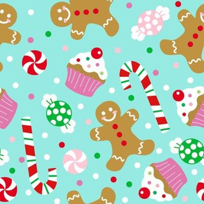 Christmas Candy Treats - Blue