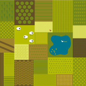 Farmyard Playmat / Quilt