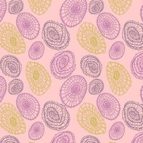 Limpet Waltz - Pinks, Purples, Greens