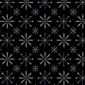 Atomic Pins and Needles Black
