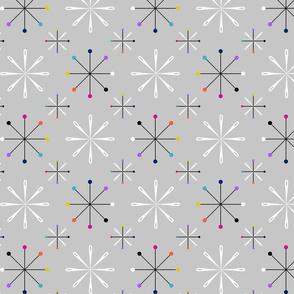 Atomic Pins and Needles Grey