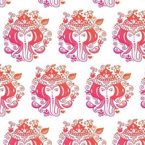 Ganesh elephant india theme illustration pattern