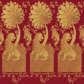 Thirteenth Century Golden Lion ~ Merlot