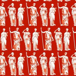 Kolonaki Goddess - Red