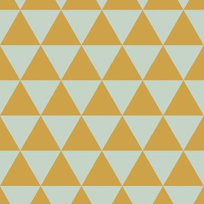 Minty Gold -  Triangles