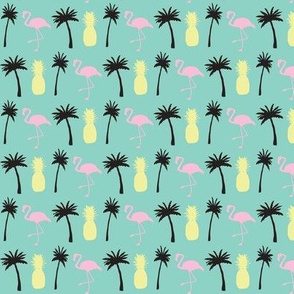 Mini Vacation ©2014 Jill Bull Palm Row Prints
