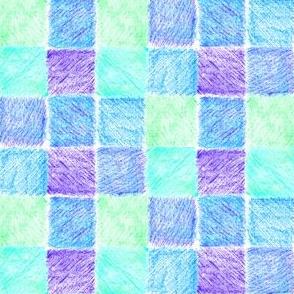 Lavender Fields Patchwork Checks