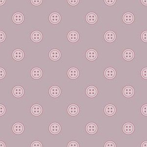 Button  Dots Purple (Lovely)