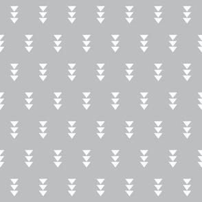 grey triple triangle