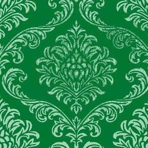 timeless brocade emerald